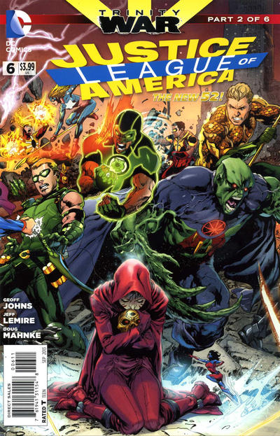 Justice League of America Vol.3 #6