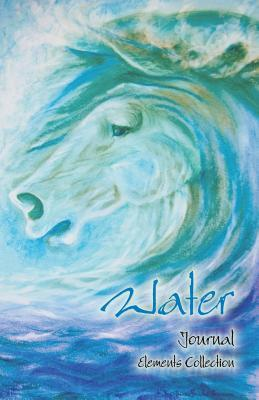 WATER (Elements Collection) Horse Art Collection Notebook/Journal - dotted pages
