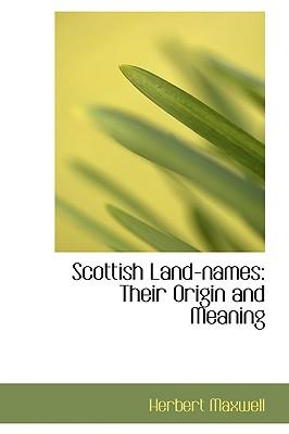 Scottish Land-names