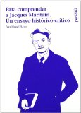 Para Comprender a Jacques Maritain