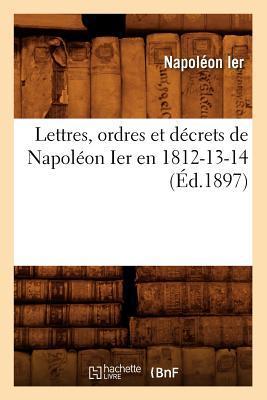 Lettres, Ordres et D...