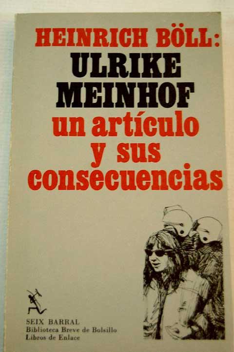 Garantía para Ulrike Meinhof