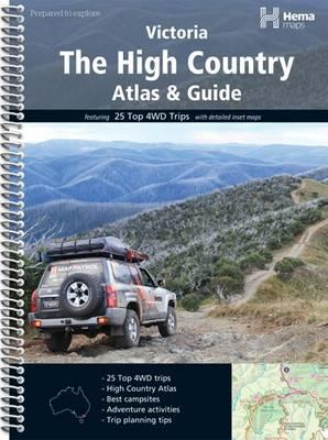 High Country atlas & guide spir. hema - 1/200