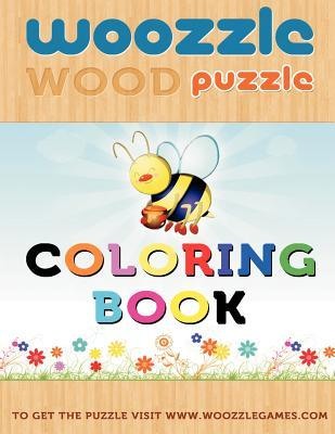 Woozzle Wood Puzzle Coloring Book