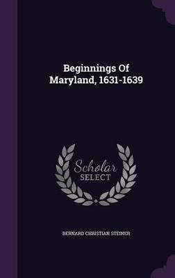 Beginnings of Maryland, 1631-1639