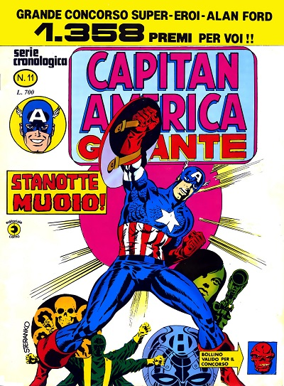 Capitan America Giga...