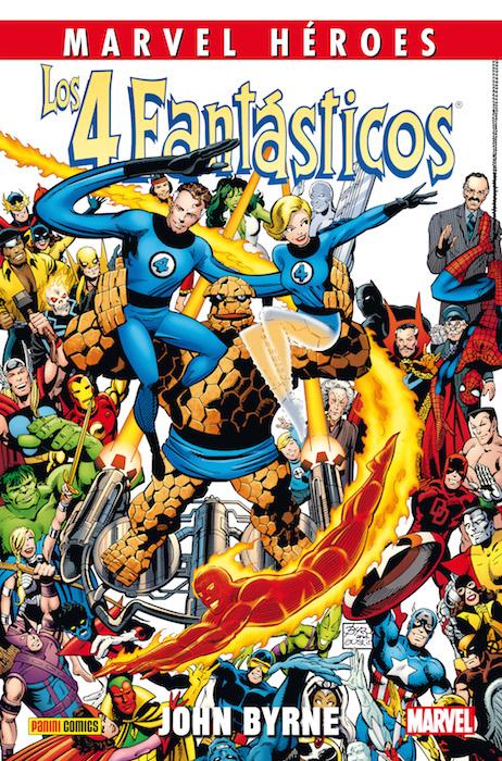 Los 4 Fantásticos de John Byrne #1 (de 4)