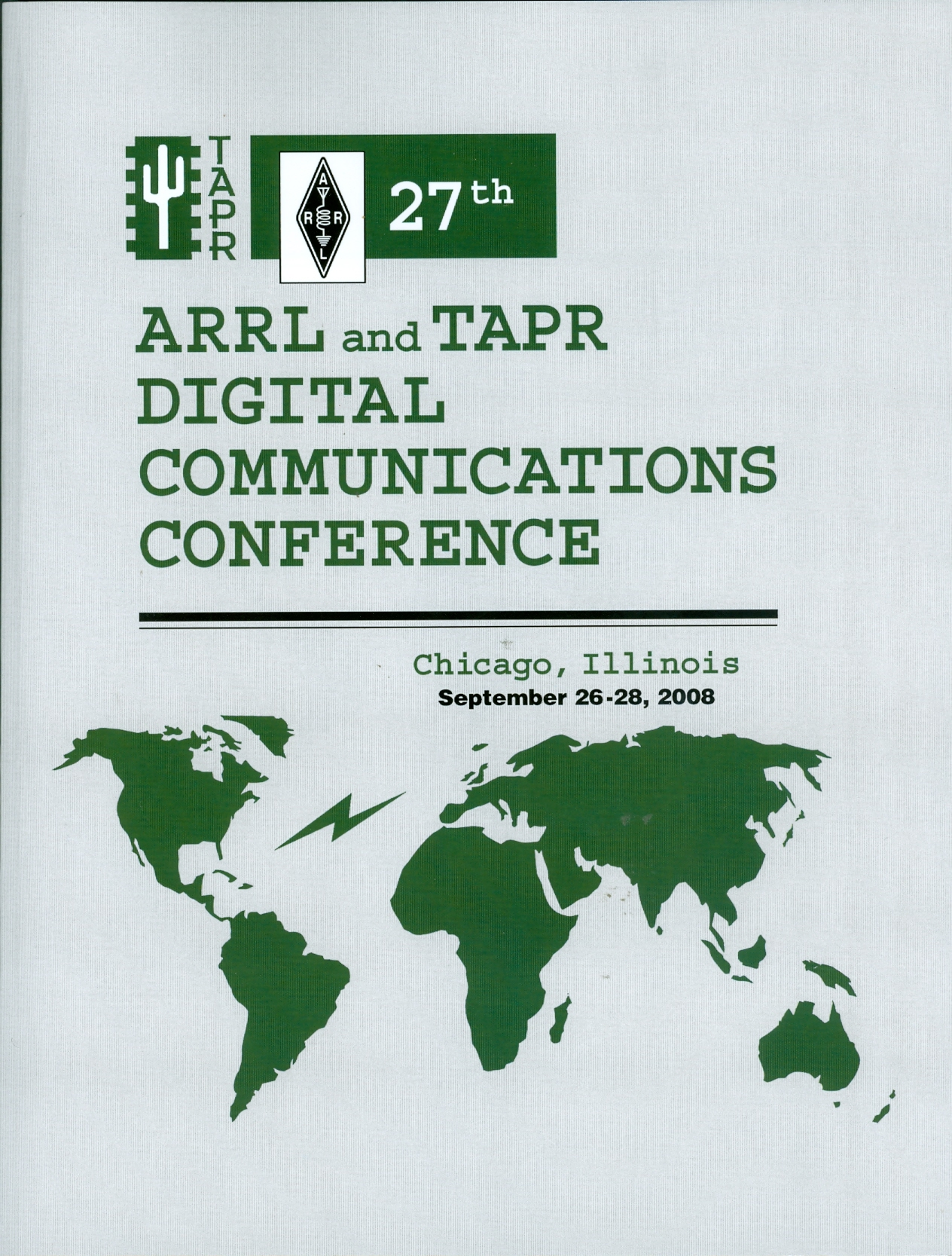 27th ARRL and TAPR Digital Communications Conference