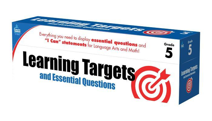 Learning Targets and Essential Questions, Grade 5