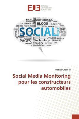 Social Média Monitoring pour les Constructeurs Automobiles