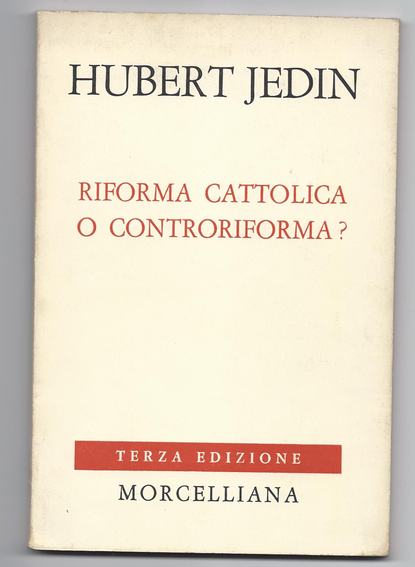 Riforma cattolica o controriforma?