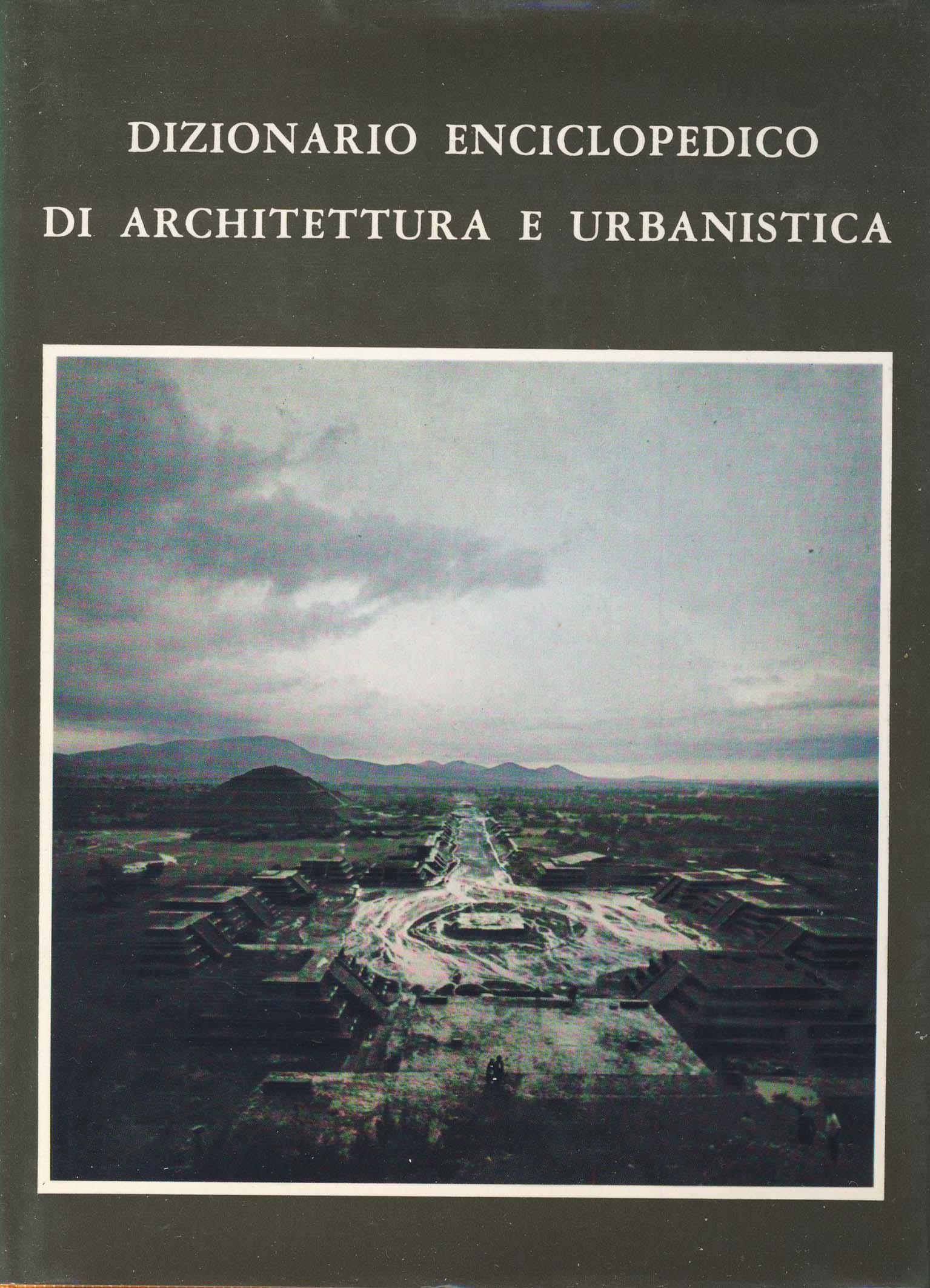 Dizionario enciclopedico di architettura e urbanistica - vol. V