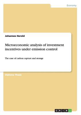 Microeconomic analysis of investment incentives under emission control