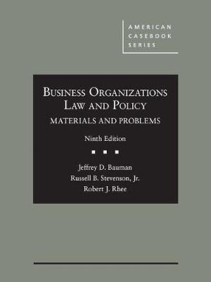 Business Organizations Law and Policy