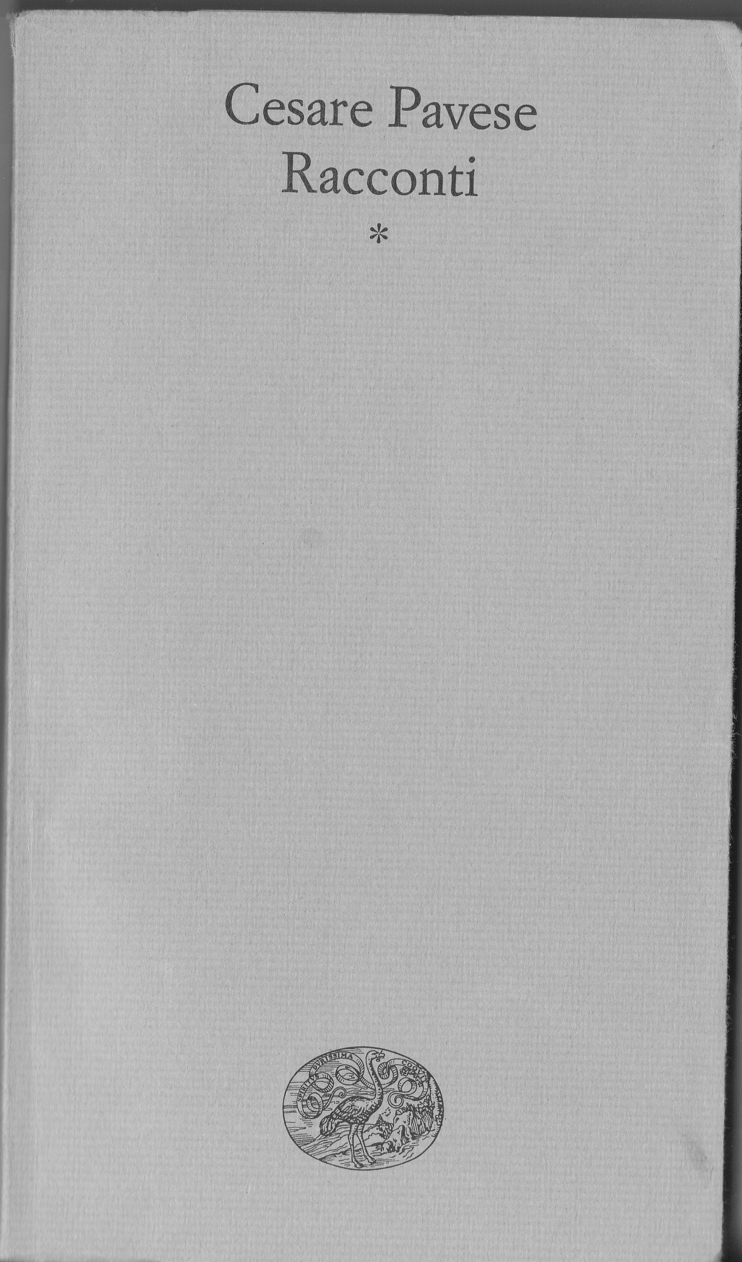 Racconti - Volume I