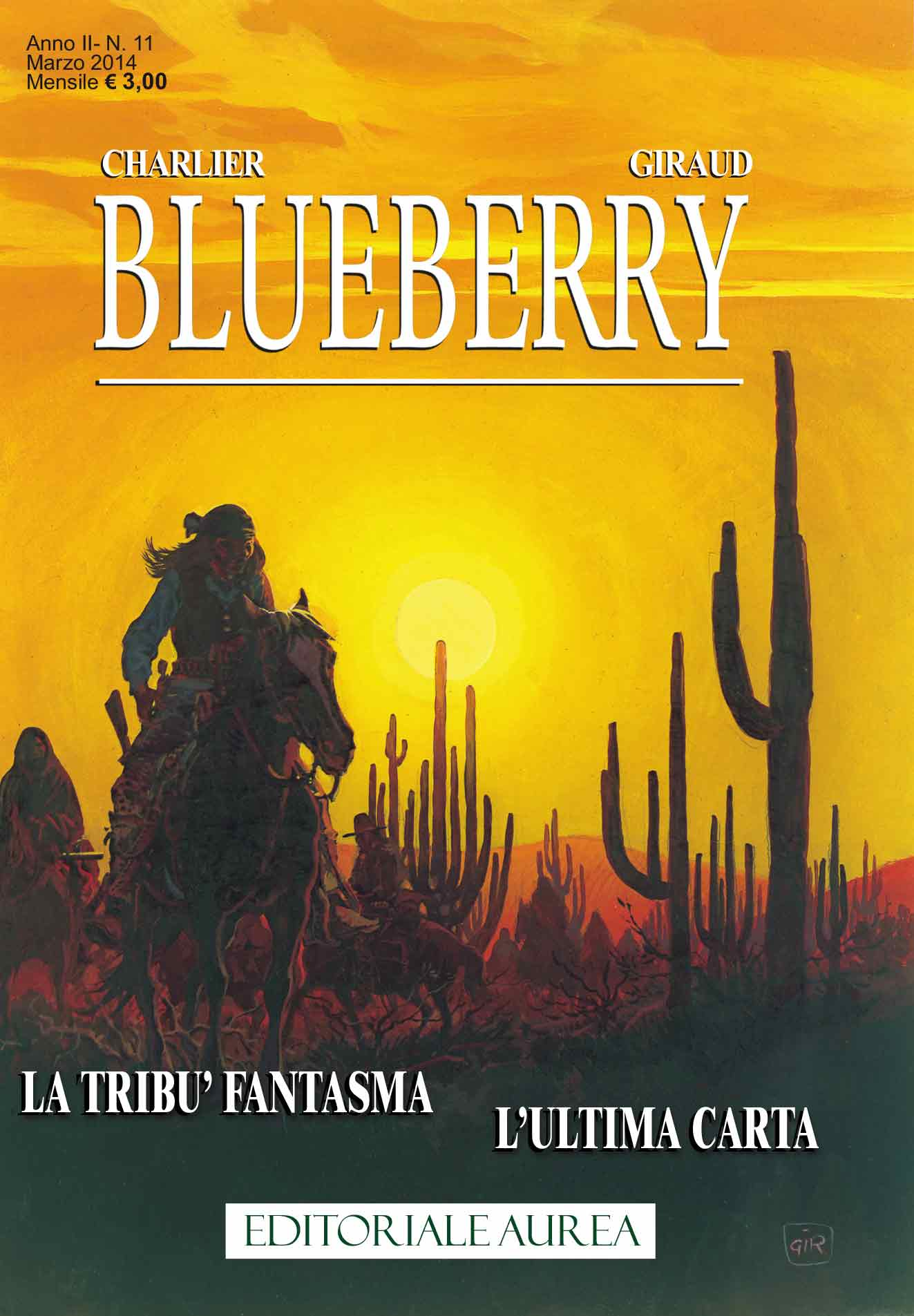 Blueberry n. 11