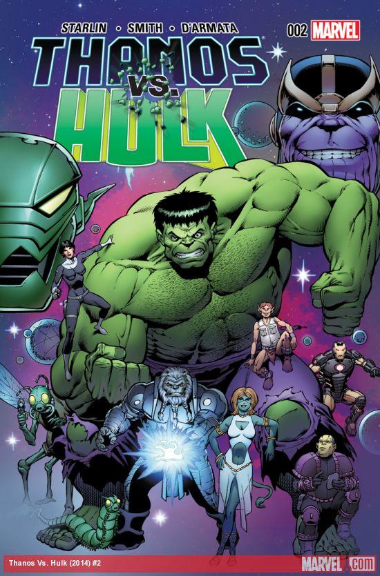 Thanos vs. Hulk Vol.1 #2