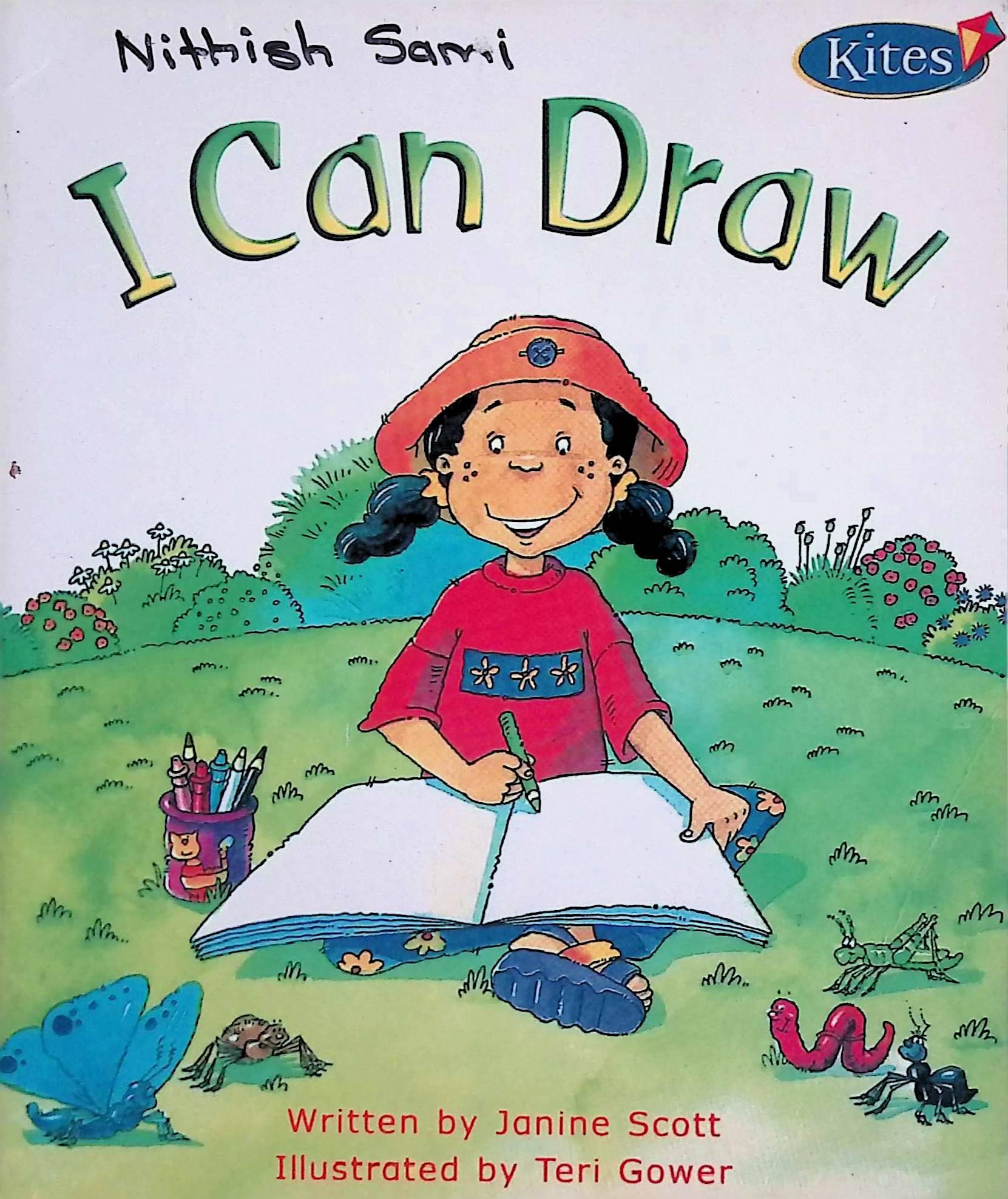I can draw / written by Janine Scott