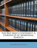 The Red Man's Continent