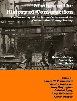 Studies in Construction History