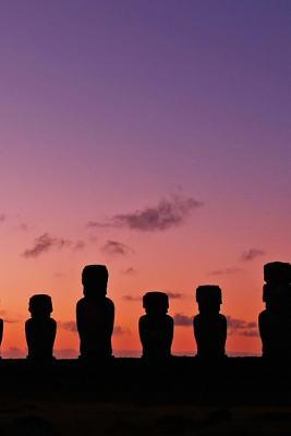 A View of Easter Island at Sunset Journal