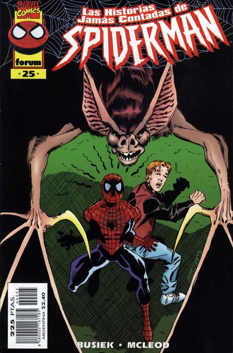 Las historias jamás contadas de Spider-Man #25 (de 26)