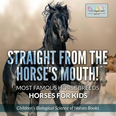 Straight from the Horse's Mouth! Most Famous Horse Breeds - Horses for Kids - Children's Biological Science of Horses Books