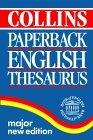 Collins Paperback Thesaurus