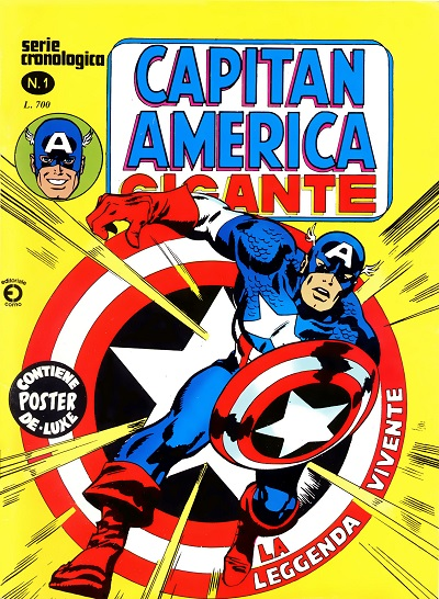 Capitan America Gigante n. 1