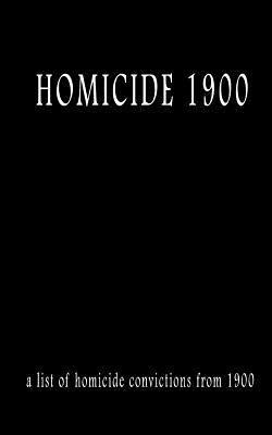Homicide 1900