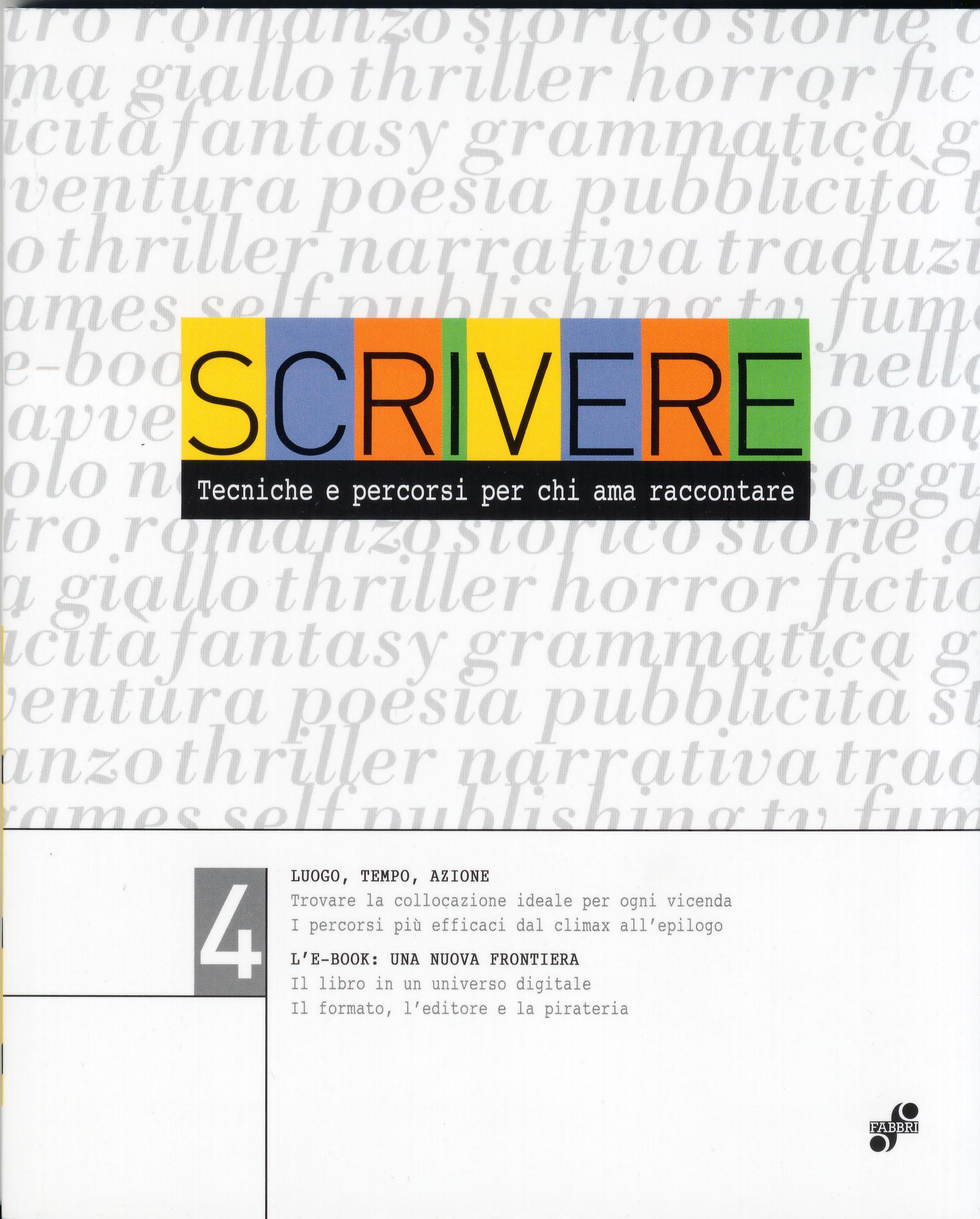 Scrivere - vol. 4