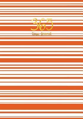 365 Days Journal, Journal Dark Orange