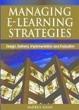 Managing E-Learning Strategies