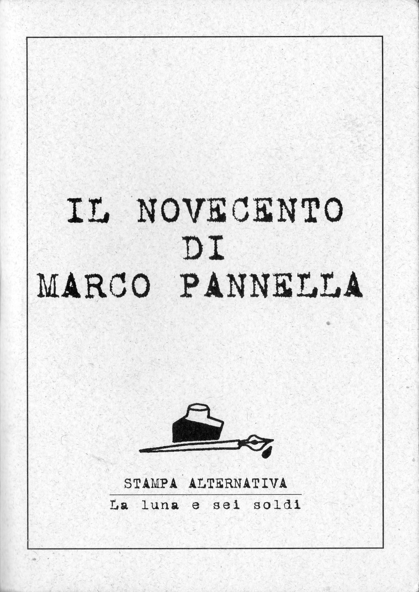 Il Novecento di Marc...