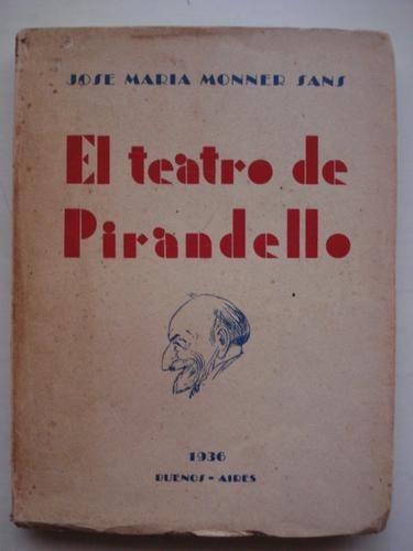 El teatro de Pirandello