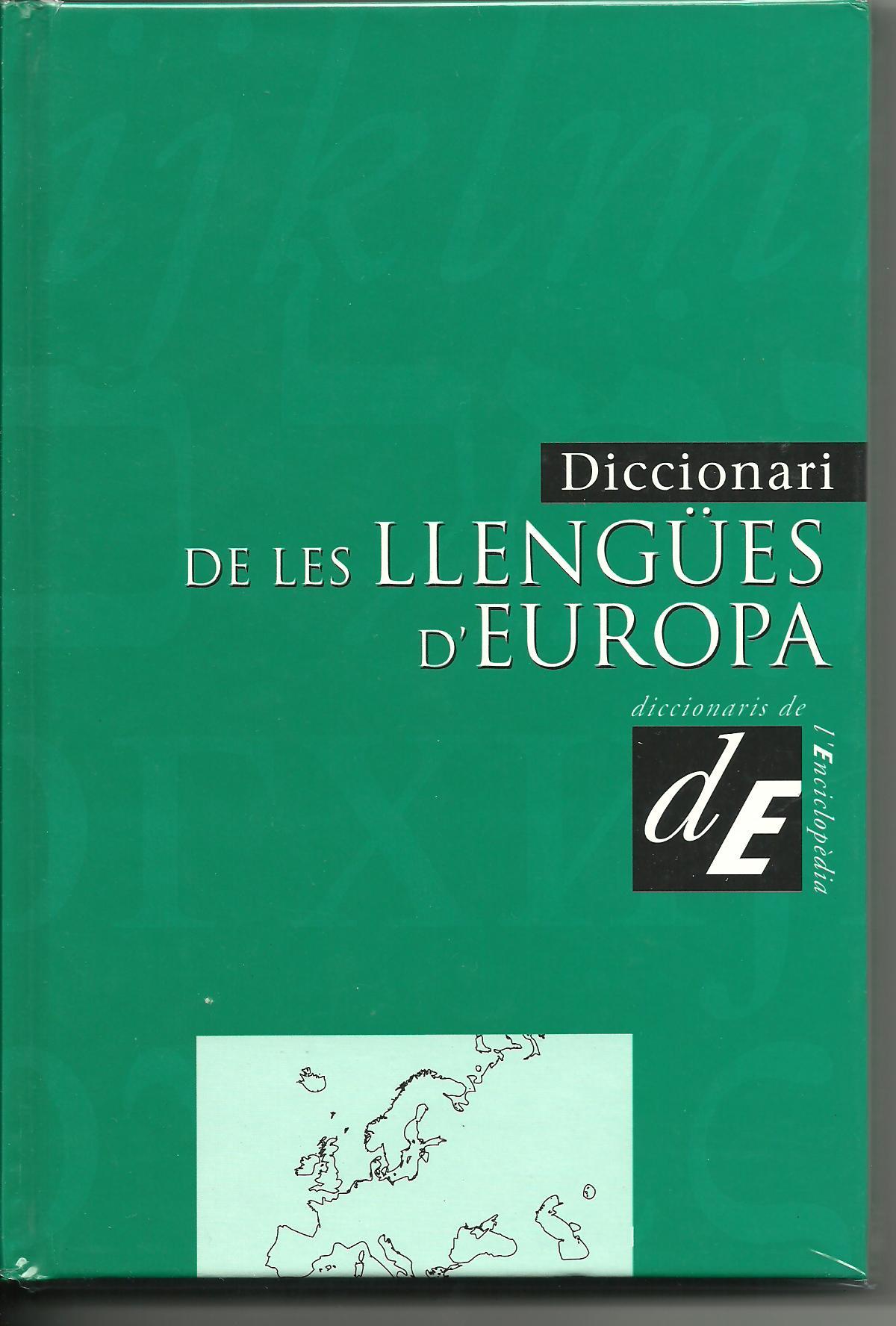 Diccionari de les Llengües D'Europa
