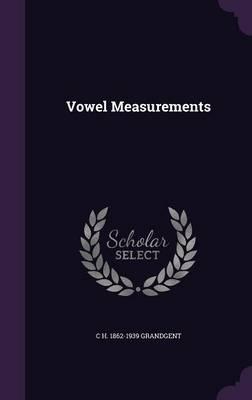 Vowel Measurements