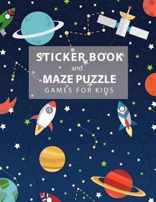 Sticker Book and Maz...