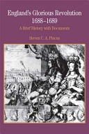 England's glorious revolution, 1688-1689