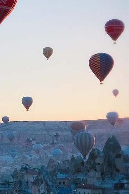 Hot Air Ballooning Notebook