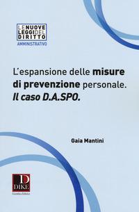 L'espansione delle misure di prevenzione personale. Il caso D.A.SPO.