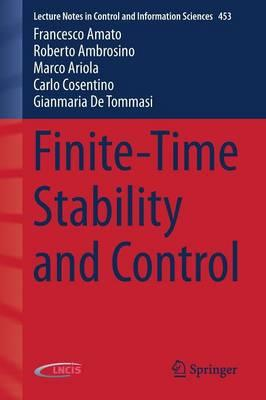 Finite-Time Stability and Control