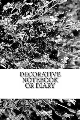Decorative Notebook or Diary