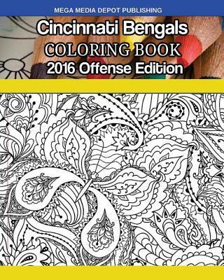 Cincinnati Bengals 2016 Offense Coloring Book