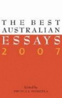 The Best Australian Essays 2007