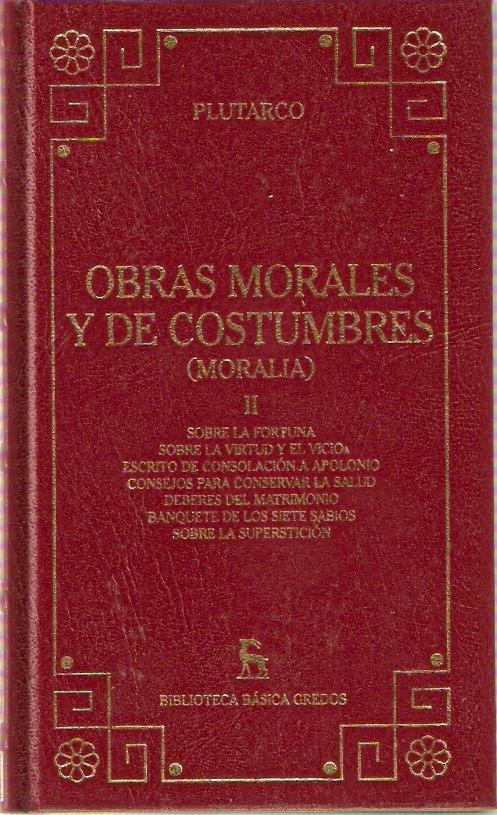 Obras morales y de c...