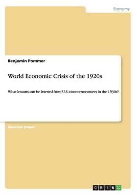 World Economic Crisis of the 1920s