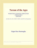 Tarzan of the Apes (Webster's Chinese Simplified Thesaurus Edition)