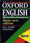 The Oxford English Minidictionary