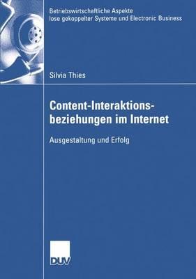 Content-interaktionsbeziehungen im Internet